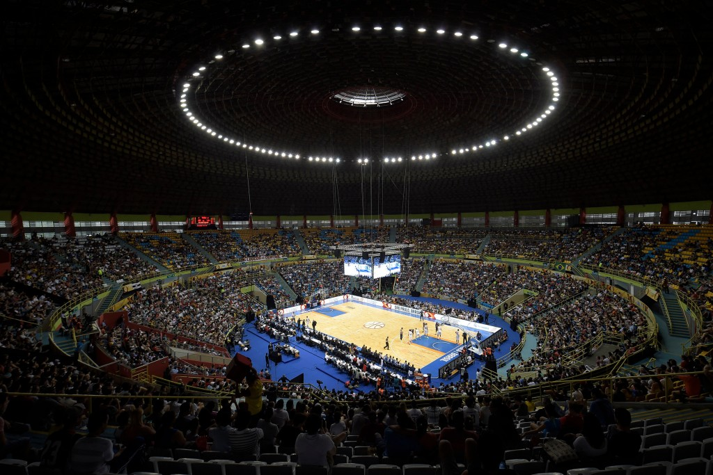 Ibirapuera, São Paulo, Brasil - September 27, 2015 -   Copa Intercontinental 2015 entre Real Madrid de España y el Bauru de Brasil. (photo: Gaspar Nóbrega/FIBA Americas)